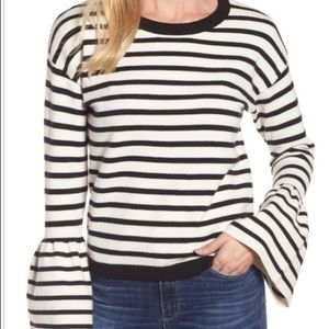 Halogen Striped Knit Sweater
